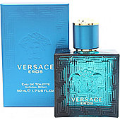 Versace Eros Eau de Toilette (EDT) 50ml Spray For Men