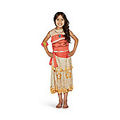Disney Moana Fancy Dress Costume - Beige