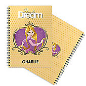 Create Your Own Personalised Disney Princess Notepad