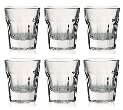 Utopia Casablanca American Shot Glasses Set of 6 R34A