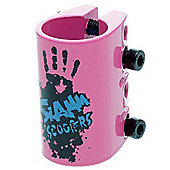 Slamm Quad Collar Clamp - Pink