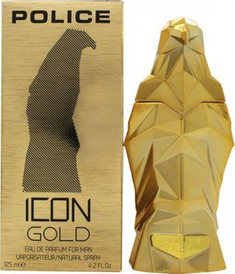 Police Icon Gold Eau de Parfum (EDP) 125ml Spray For Men