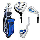 Young Gun Sgs Junior Eagle Right Hand Golf Set + Bags Age 6-8 - Blue
