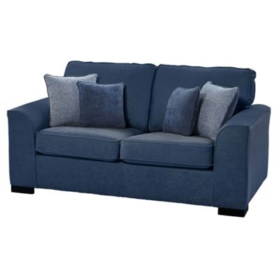 Vitorio Medium 2.5 Seater Sofa, Navy