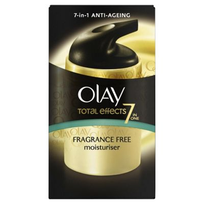 Olay Total Effects 7X Day Moisturiser. Fragrance Free 37ML