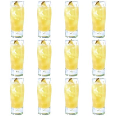 Durobor Bubble Hiball Cocktail Drinking Glass - 395ml - Pack of 12 Glasses