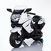 BMW Style Kids Motorcycle 12V Style Ride On White