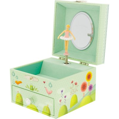 Kids Jewellery Boxes, Children's Musical Jewellery Boxes- In the Garden