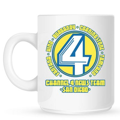 Channel 4 News Team San Diego 10oz Ceramic Mug