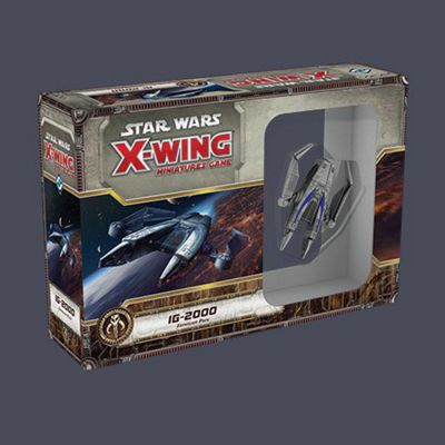 Star Wars X-Wing Miniatures Game Expansion: Ig-2000 - Games/Puzzles