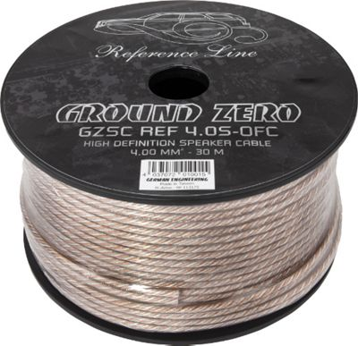 Ground Zero 4.0S OFC Speaker Cable 30M Spool