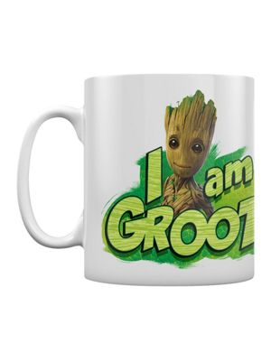 Guardians Of The Galaxy I Am Groot Boxed 10oz Ceramic Mug White