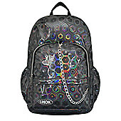 Chok Holographic 3D Grey Backpack