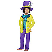 Disney Alice in Wonderland Mad Hatter Dress-Up Costume - Yellow