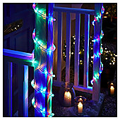6m LED Christmas Rope Light, Coloured