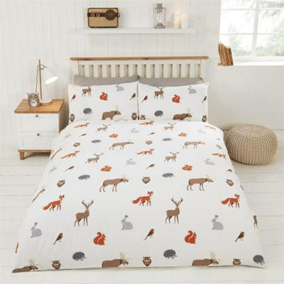 Rapport Country Animals Multi Duvet Cover Set - Single