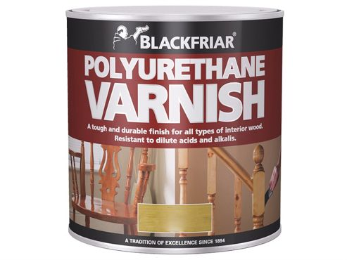 Blackfriar Polyurethane Varnish P65 Dark Mahogany Gloss 500ml