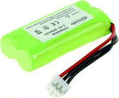 2-Power CPH0005A Nickel-Metal Hydride (NiMH) 600mAh 2.4V rechargeable battery