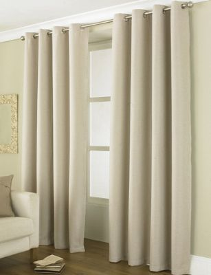 Buy Country Club Thermal Blackout Eyelet Curtains 90
