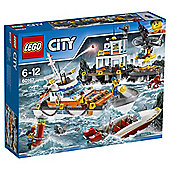 Lego City Coast Guard Coast Guard Head Quarters 60167