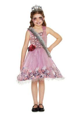 fu0026f zombie prom queen halloween costume pink