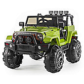 BIG SUV Trailcat Style 12v Electric Jeep - Green