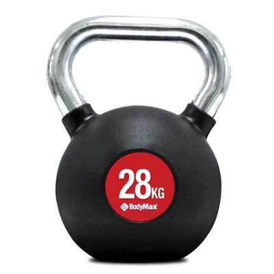 Bodymax Chrome Handle Kettlebell - 28kg