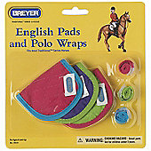 Breyer English Pads & Polo's Hot Colours (ASSORTED)