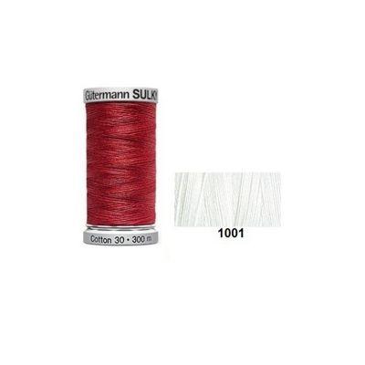 Gutermann Sulky Cotton 300m Bright White