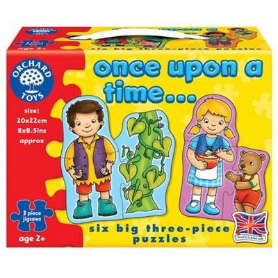 Orchard Toys 6 jigsaws Once Upon a Time