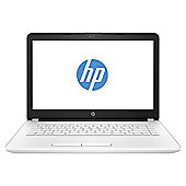"HP 14-BW021NA 14"" AMD A6 Dual-core 8GB RAM 1TB HDD Laptop with DVDRW - White"