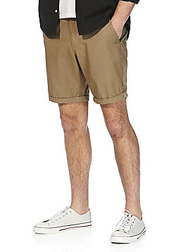 F&F Chino Shorts - Tobacco