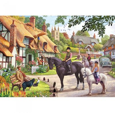 Gibsons A Ride with Mum 500-Piece Jigsaw Puzzle