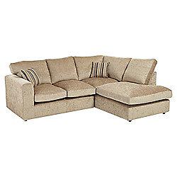 Taunton Right Hand Corner Sofa, Taupe