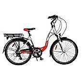 Batribike Diamond Pro Electric Bike Red & White