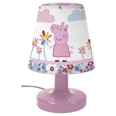 Peppa Pig Bicycle Bedside Lamp