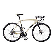 Coyote Gravel Pro Road Bike 48cm Alloy Frame 18 Speed 700c