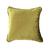 McAlister Velvet Cushion Cover - Lime Green, Silky Touch