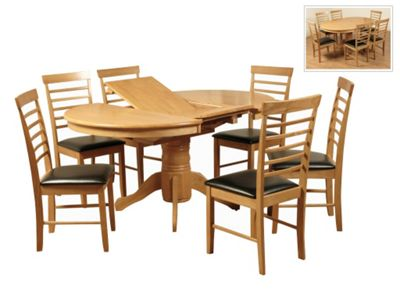 Elements Hanover 7 Piece Dining Set