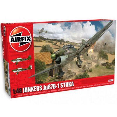 AIRFIX A07114 Junkers Ju87 B-1 Stuka 1:48 Aircraft Model Kit