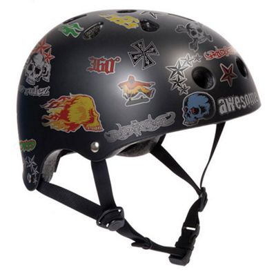 SFR Sticker Helmet - Black