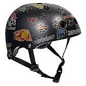 SFR Sticker Helmet - Black