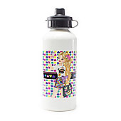 Sindy Personalised Heart Water Bottle