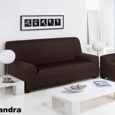 Elainer Home Living Sandra 3 Seater Sofa Cover - Beige