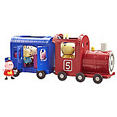 Peppa Pig Peppa Miss Rabbits Train and Carriage Set