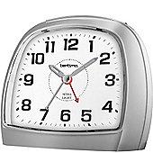 Acctim 14697 Bentima Sensa-Light 3 Non-Tick Night Display Alarm Clock, Plastic, Silver
