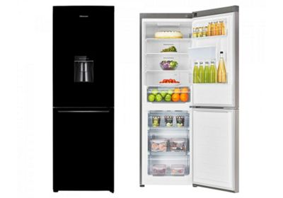 Hisense RB367N4WB1 Frost Free 60cm Fridge Freezer With Water Dispenser - Blac