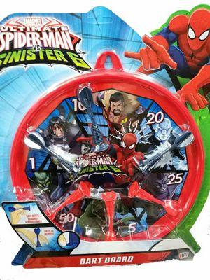 Spiderman Dart Board