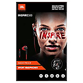 JBL Inspire 300 In Ear Sports Earphones With Mic/Remote- Red/Black