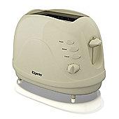 Elgento 2 Slice Toaster - Cream